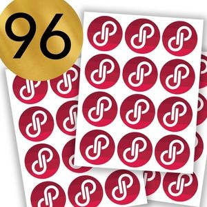 96 Posh Packaging Sticker Labels Round Poshmark